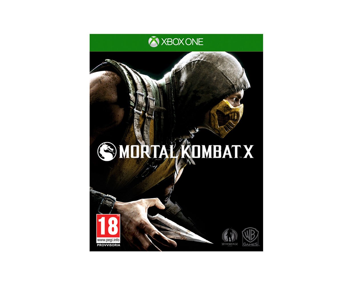 Видео игры: Mortal Kombat X XBOX ONE, фотография №1
