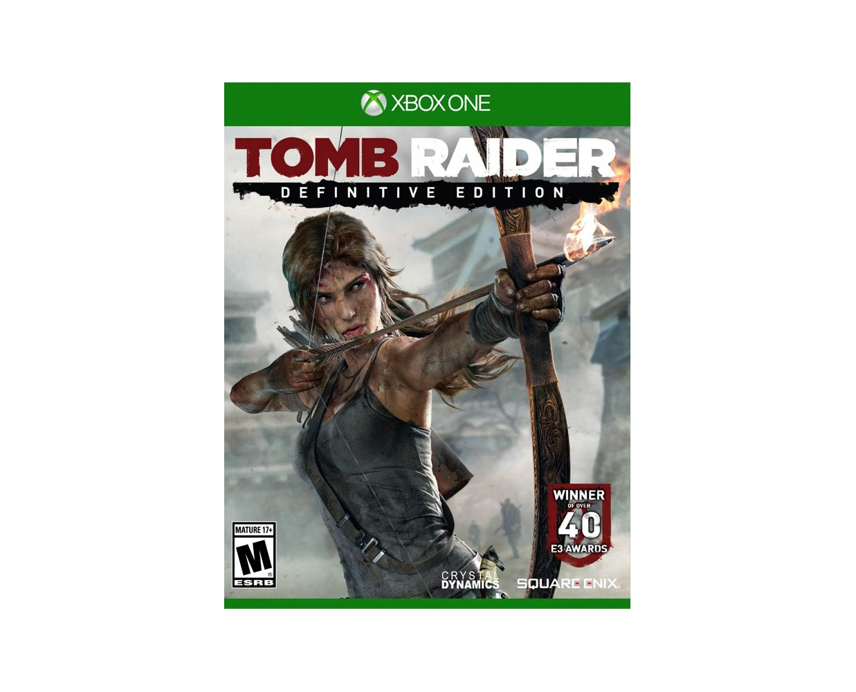 Видео игры: Tomb Raider Definitive Edition Xbox One, фотография №1