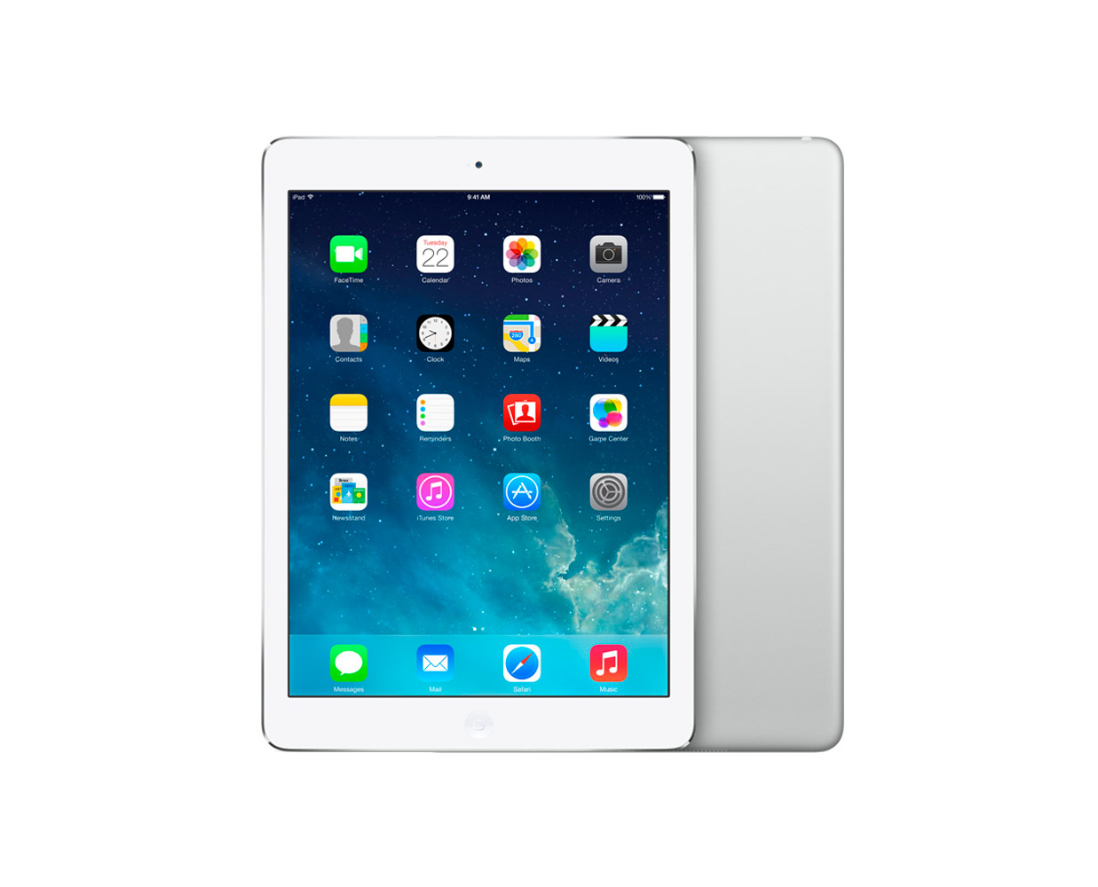 Планшеты: iPad Air 16GB WiFi Silver, фотография №1