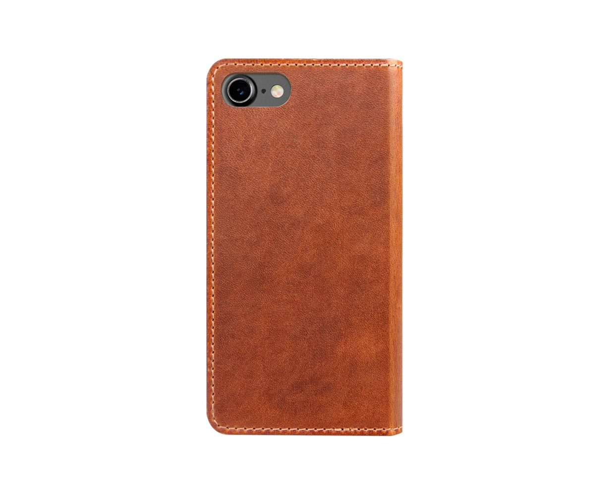 Чехлы: Nomad iPhone 7 Leather Folio Wallet Brown, фотография №1