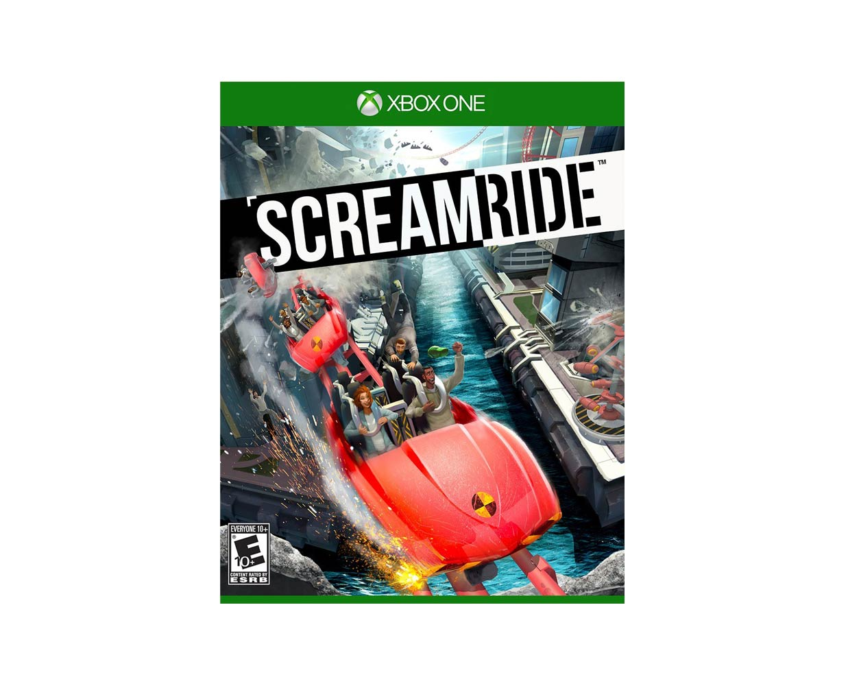 Видео игры: Screamride Xbox One, фотография №1