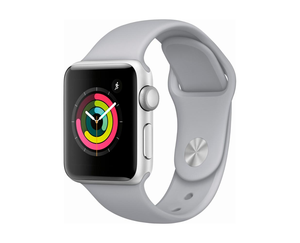 Смарт часы: Apple Watch Series 3 Silver Fog Sport Band 42mm, фотография №1