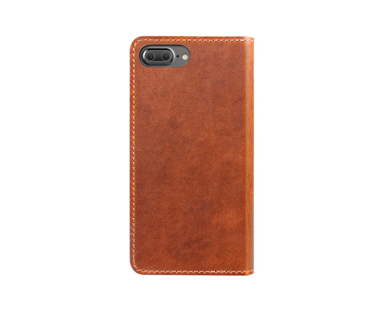 Чехлы: Nomad iPhone 7 Plus Leather Folio Wallet Brown, фотография №1