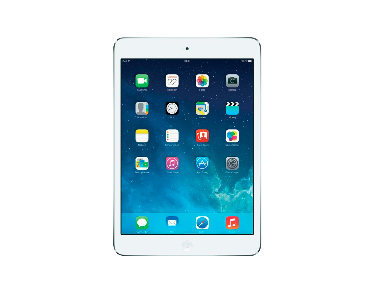 Планшеты: iPad mini 2 32GB LTE Silver, фотография №1