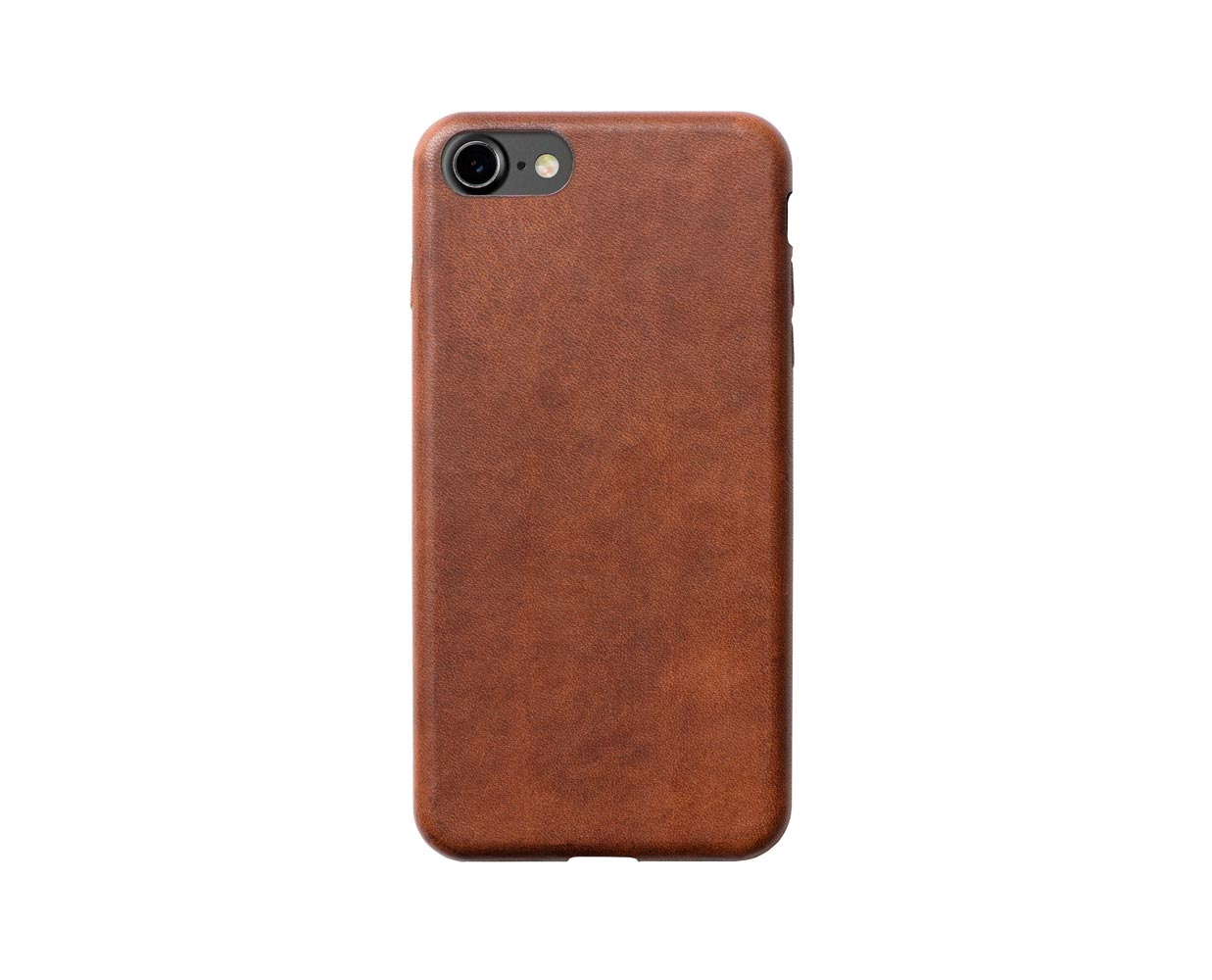 Чехлы: Nomad iPhone 7 Leather Case Brown, фотография №1