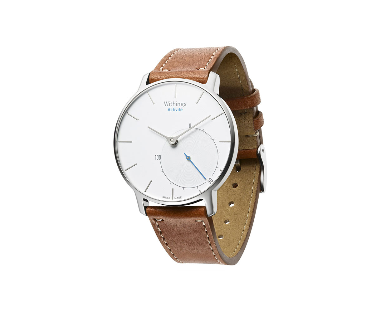 Смарт часы: Withings Activite Silver, фотография №1
