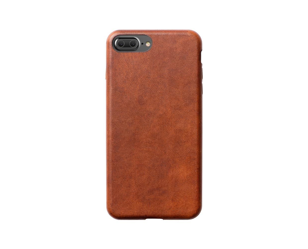 Чехлы: Nomad iPhone 7 Plus Leather Case Brown, фотография №1