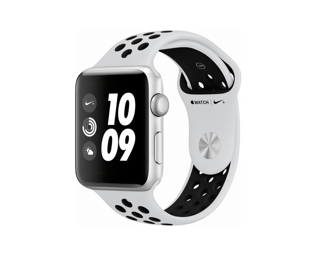 Смарт часы: Apple Watch Series 3 Nike+ Silver Platinum Sport Band 38mm, фотография №1