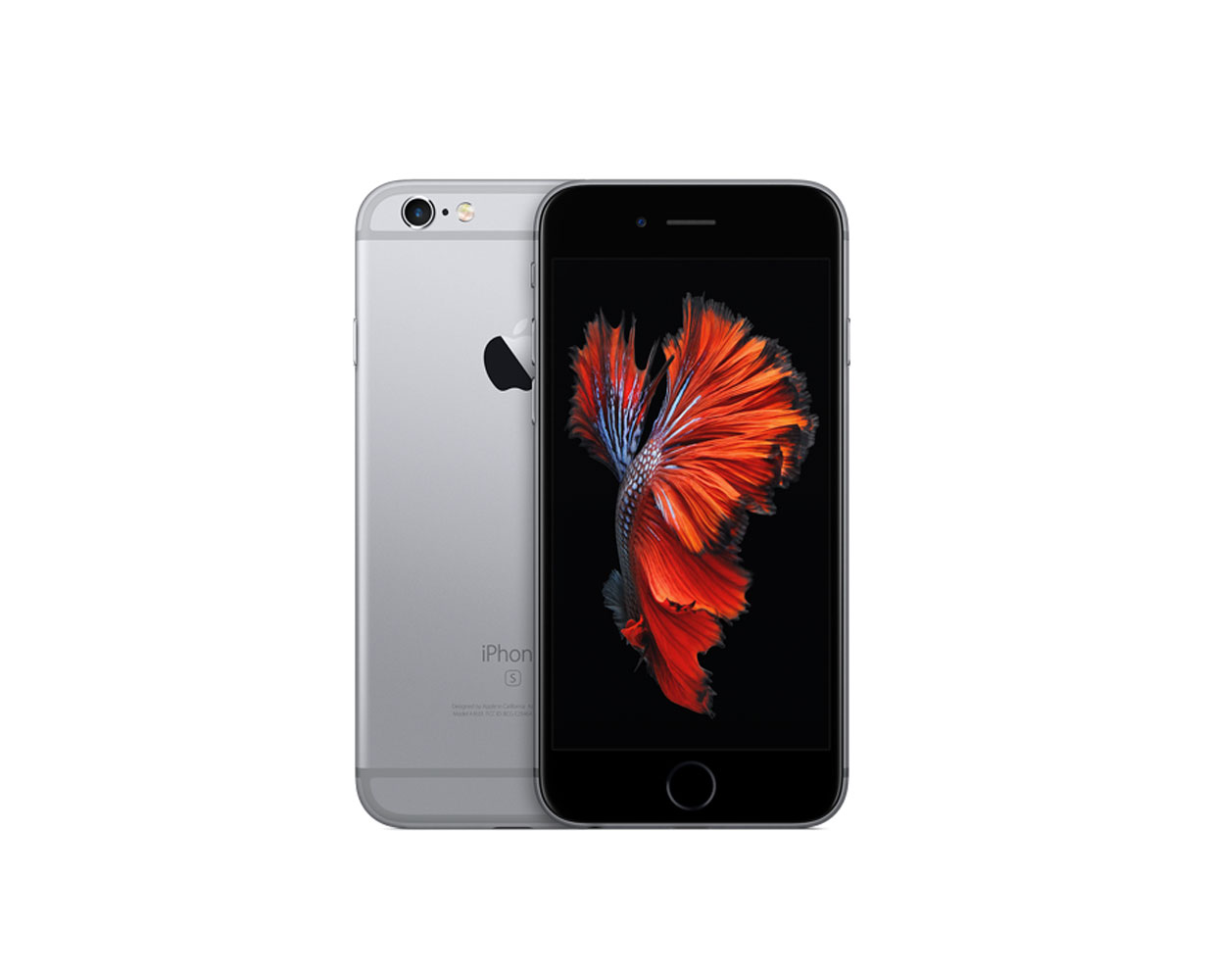 Смартфоны: iPhone 6S 128GB Space Gray, фотография №1