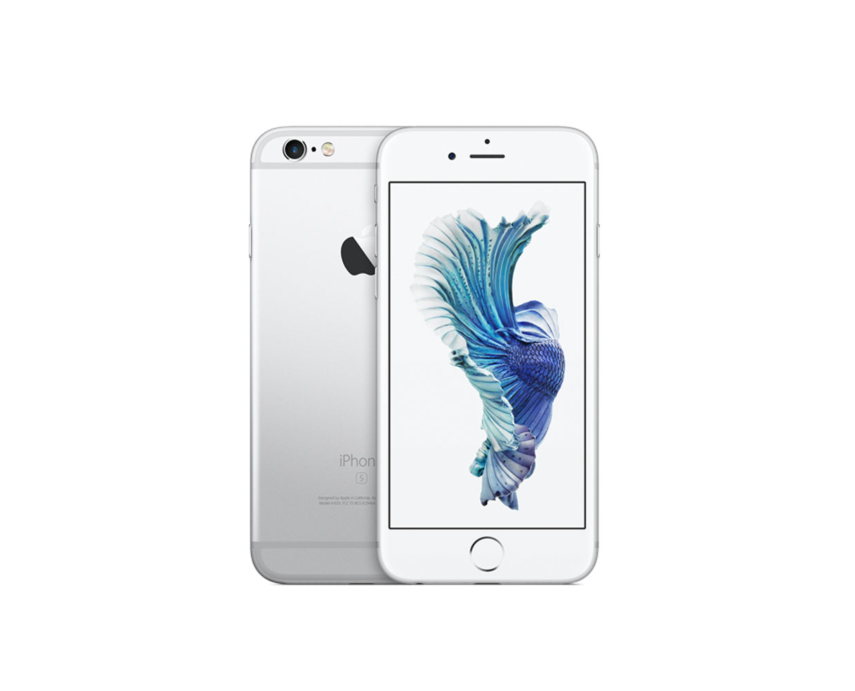 Смартфоны: iPhone 6S 128GB Silver, фотография №1