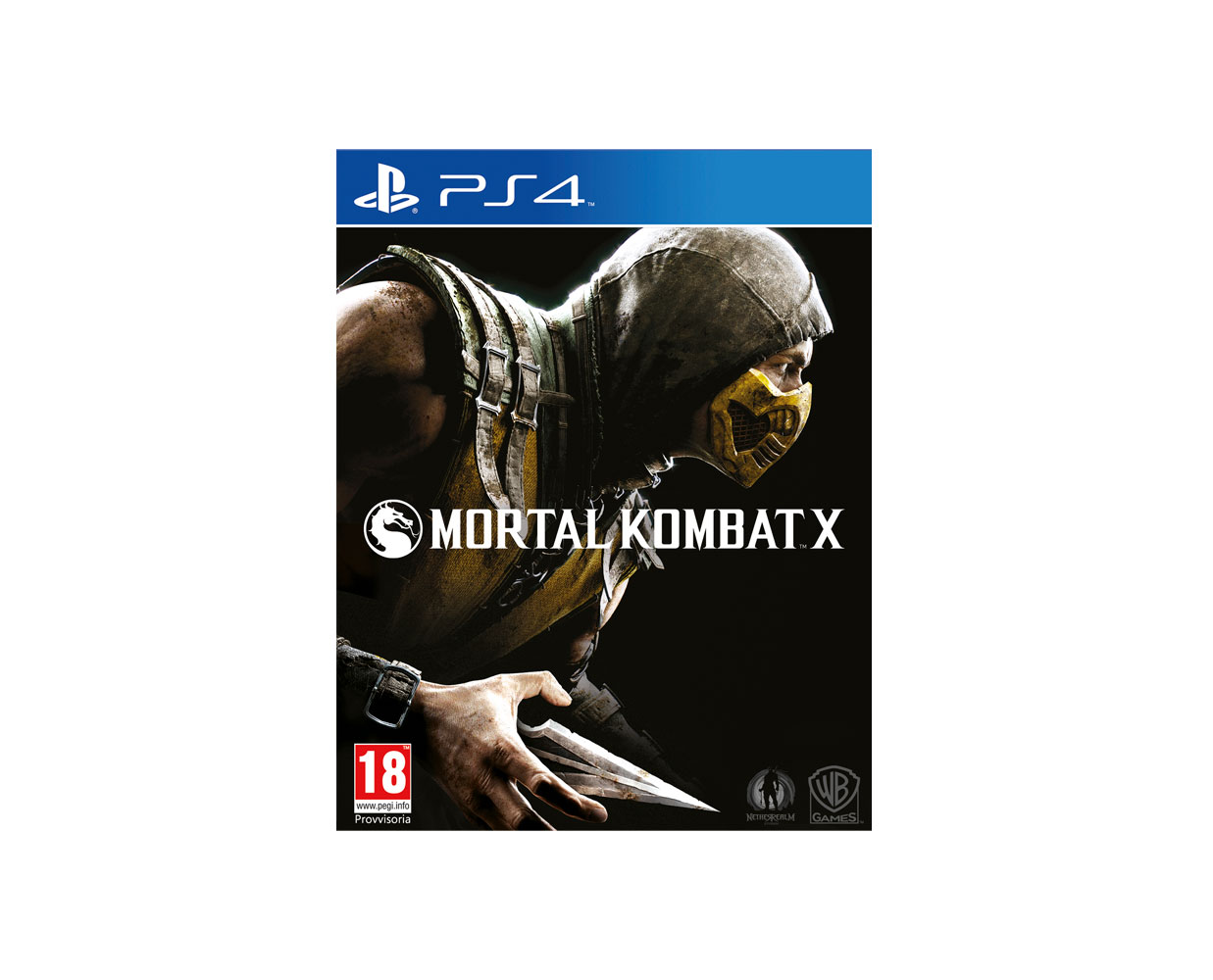 Видео игры: Mortal Kombat X PS4, фотография №1