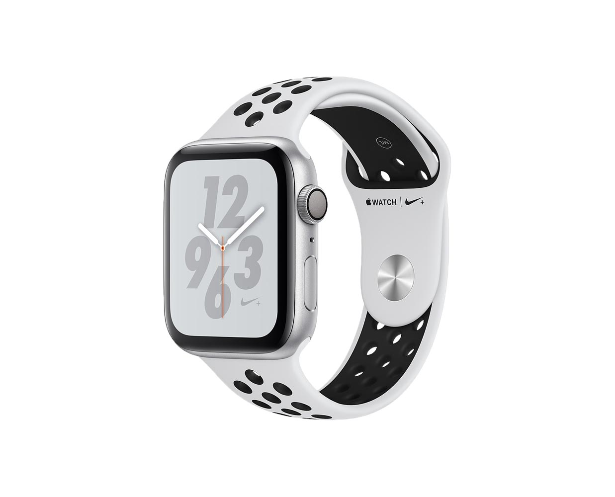 Смарт часы: Apple Watch Series 4 Nike+ Silver Platinum Sport Band 40mm, фотография №1