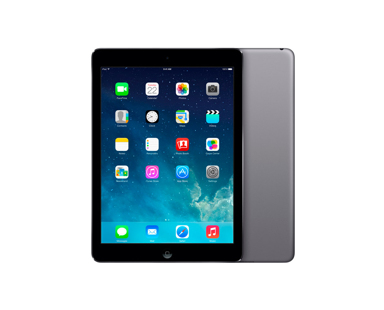 Планшеты: iPad Air 16GB WiFi Space Grey, фотография №1