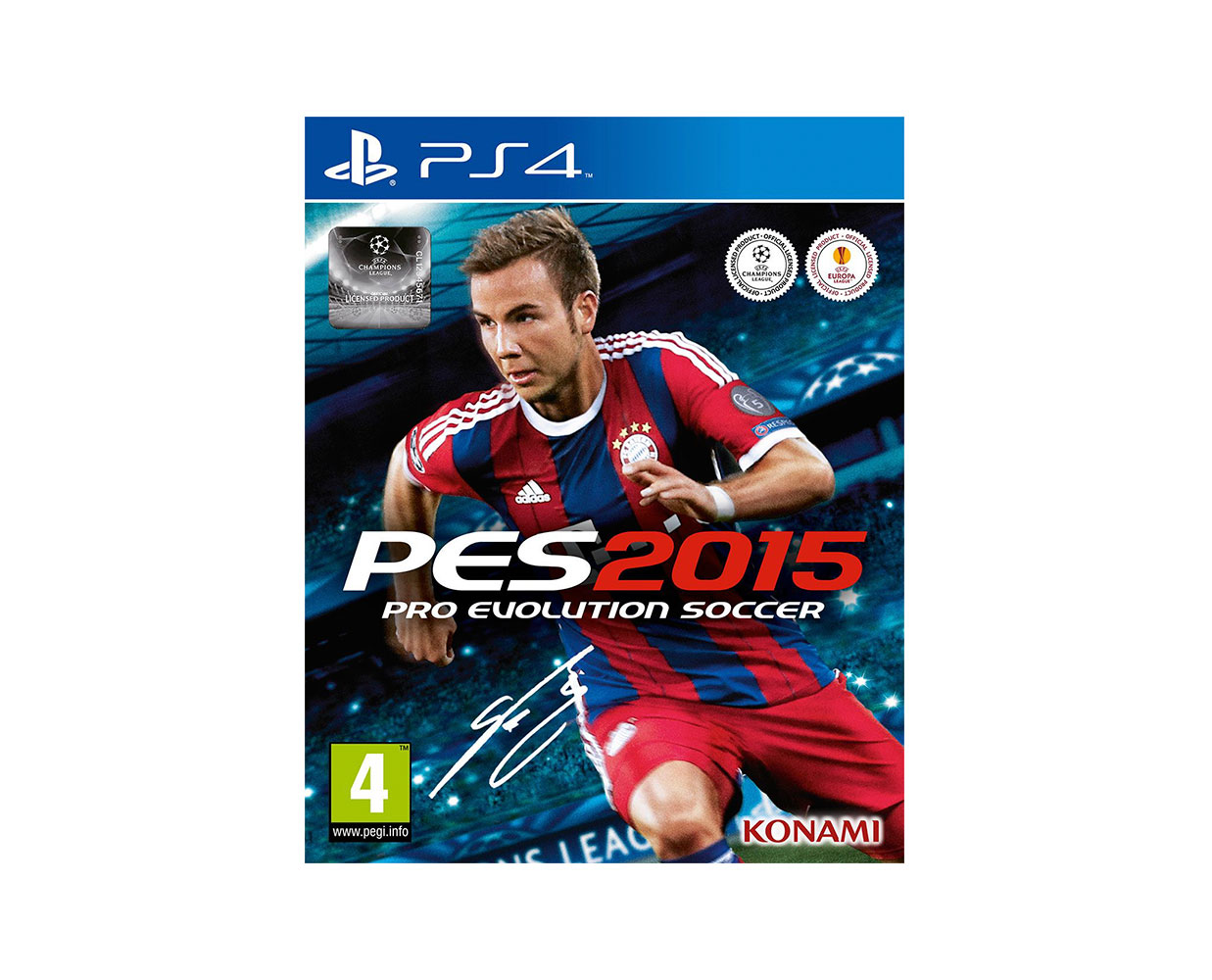 Видео игры: Pro Evolution Soccer 2015 PS 4, фотография №1