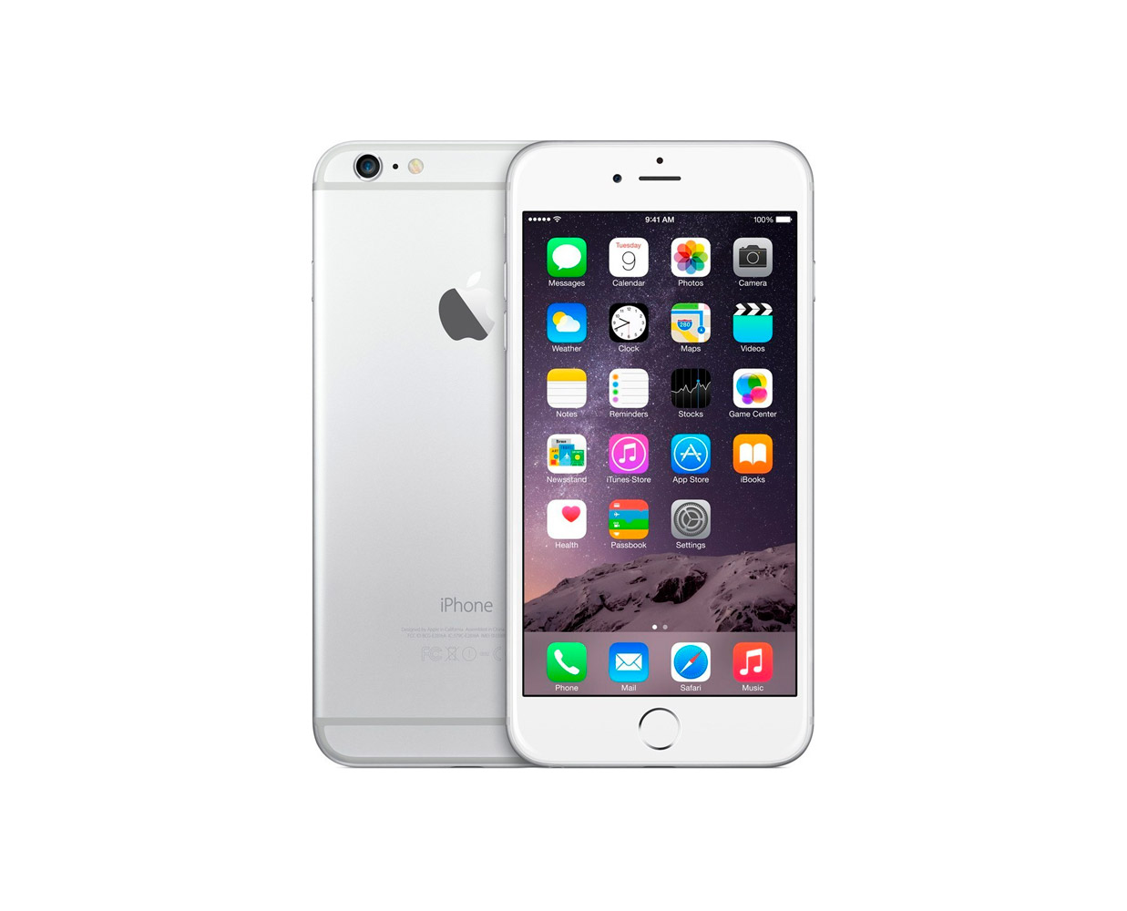 Смартфоны: iPhone 6 Plus 64GB Silver, фотография №1