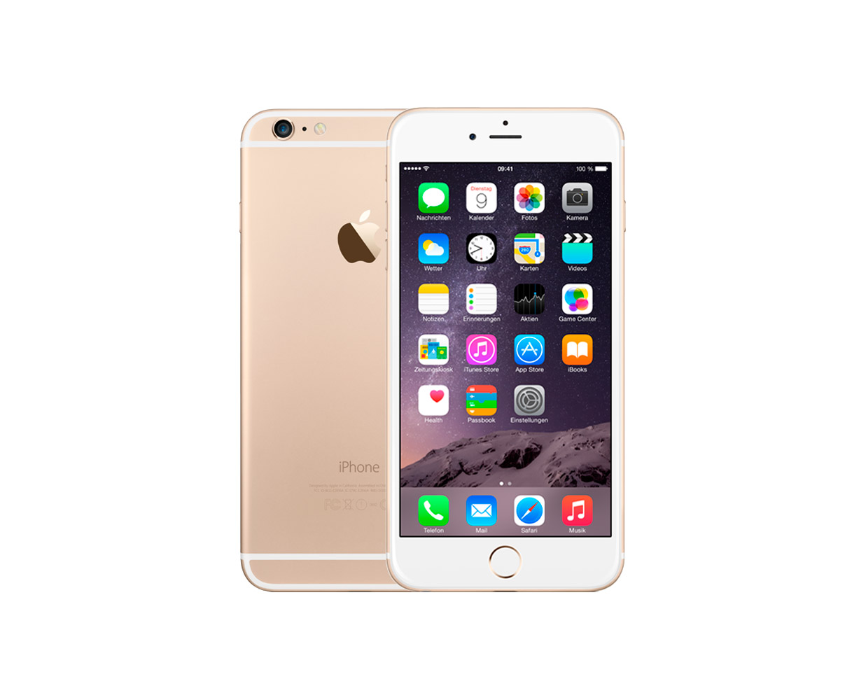 Смартфоны: iPhone 6 Plus 64GB Gold, фотография №1