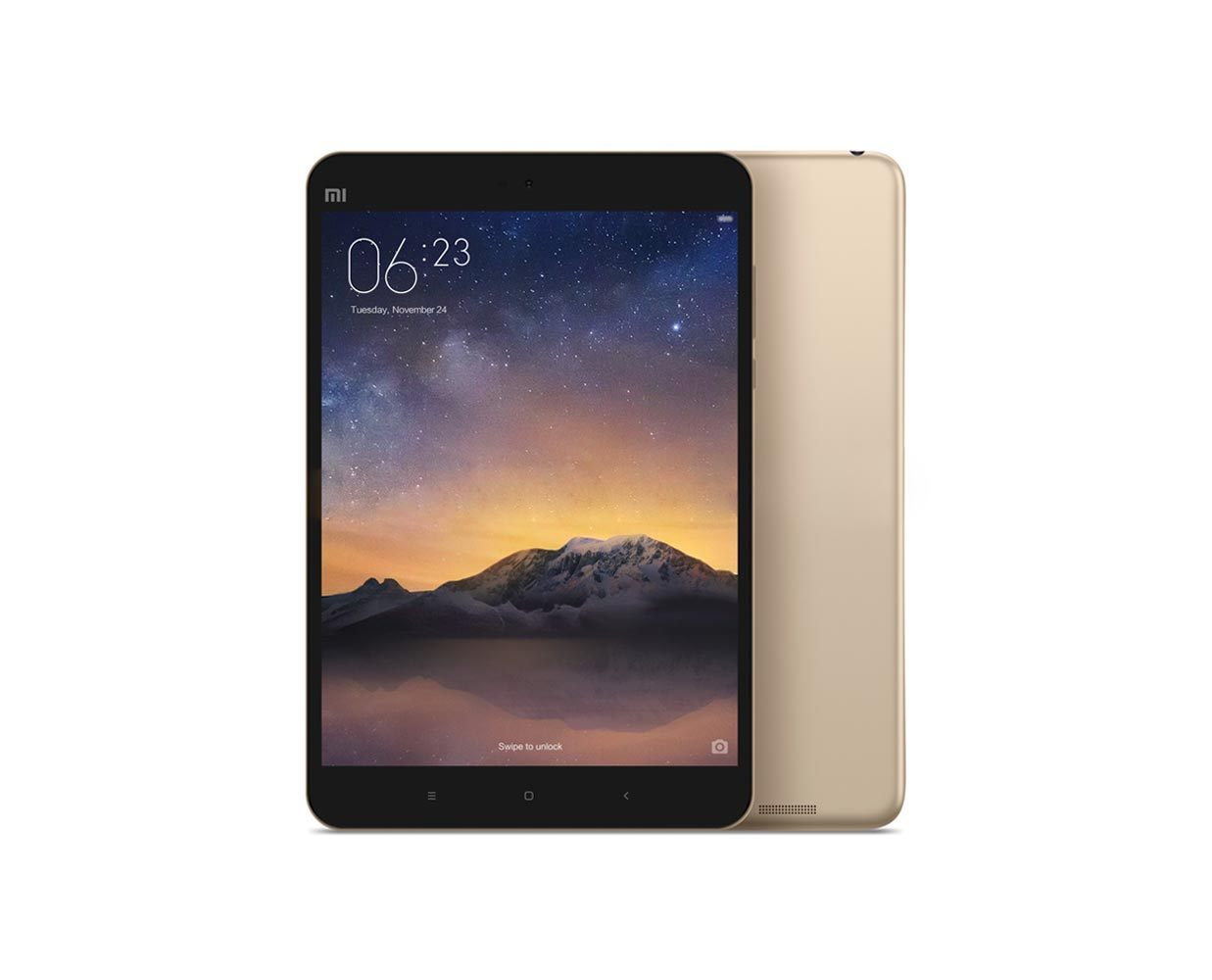 Планшеты: Xiaomi Mi Pad 2 16GB Gold, фотография №1