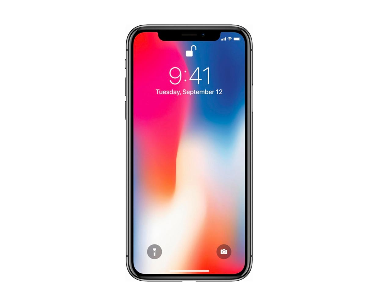 Смартфоны: iPhone X 64GB Space Gray, фотография №1