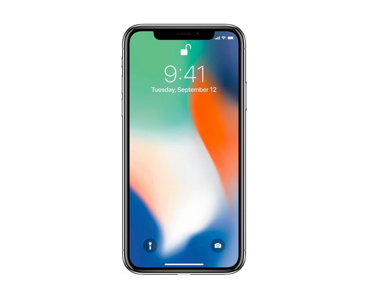 Смартфоны: iPhone X 64GB Silver, фотография №1
