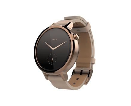 Moto 360 2 Gold Leather 42mm