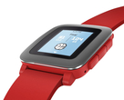 Смарт часы: Pebble Time Red, фотография №2