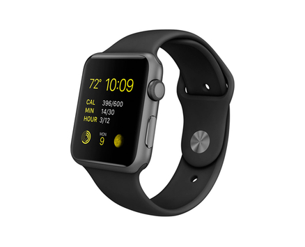 Watch Sport Space Gray Black 42 mm