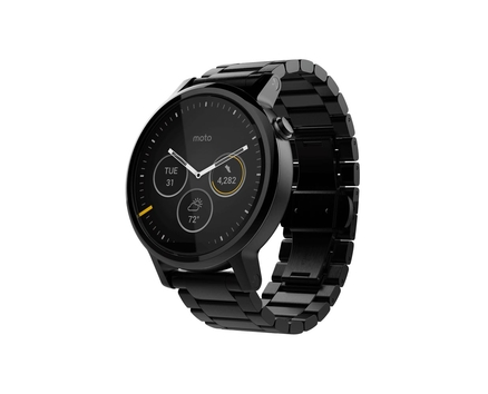 Moto 360 2 Black Metal 46mm