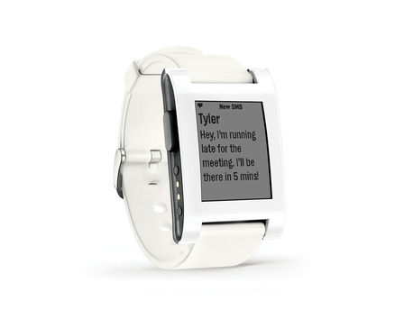 Pebble Smartwatch Arctic White