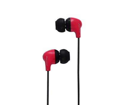 Pioneer Earphones Red