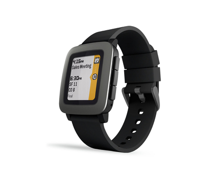 Pebble Time Black