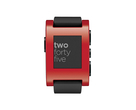 Смарт часы: Pebble Smartwatch Cherry Red, фотография №2